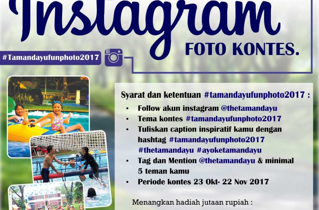 """Taman Dayu Fun Photo 2017"" – Instagram Foto Kontes"