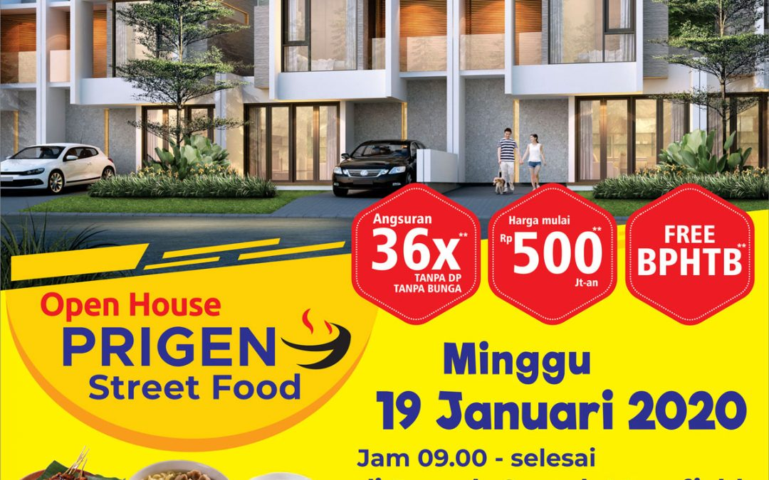 Open House Prigen Street Food